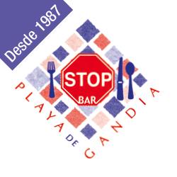 logo stop bar