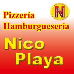 logo pizzeria nico playa