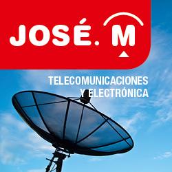 logo jose.m telecomunicaciones y electronica