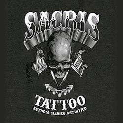 logo sacris tattoo