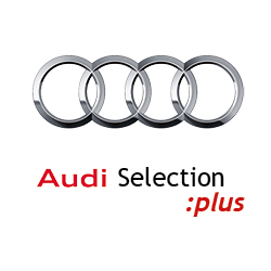 logo audi selection:plus