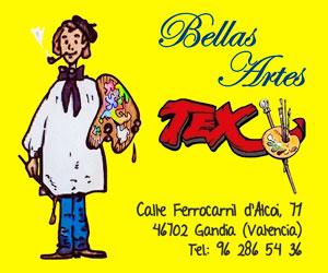 Artículos de Bellas Artes para dibujo, pintura, grabado y diseño