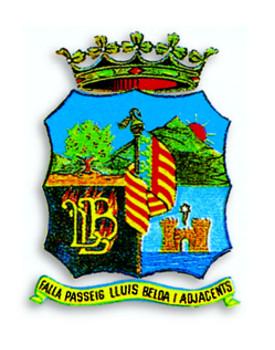 Escudo Falla Passeig Lluís Belda