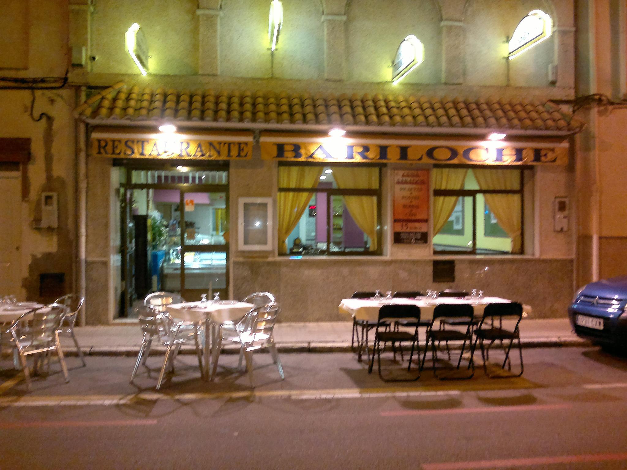 Fachada restaurante Bariloche