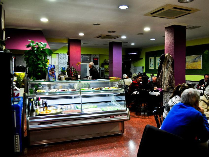 Interior restaurante Bariloche A