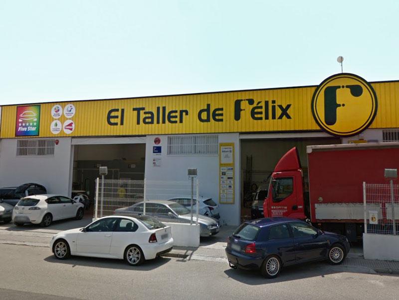 Fachada El Taller de Félix