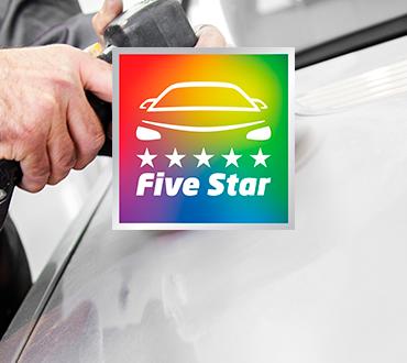 El sello Five Star