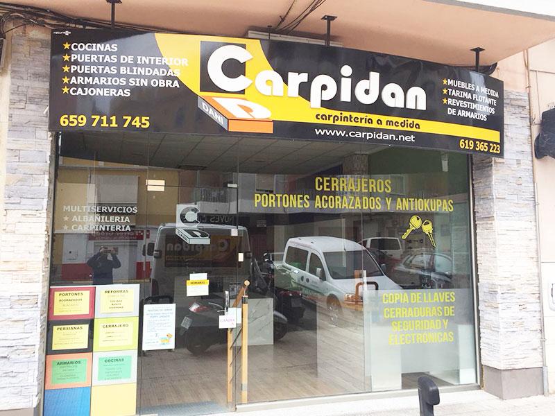 Fachada Carpidan